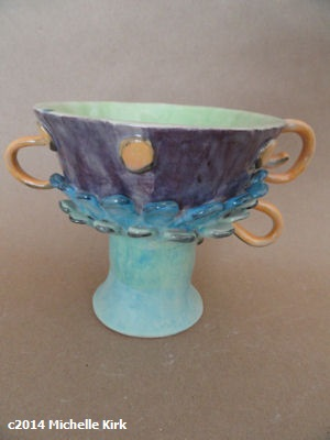 Ceramics Tea Cup Fancy One